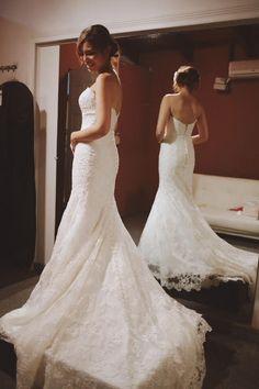 Vestido de novia Allure Bridals modelo 9072 disponible seminuevo en la tienda de novias De Novia a Novia. San José, Costa Rica.