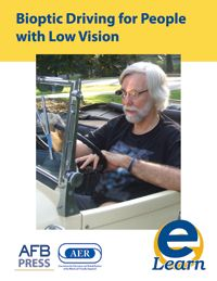 """A new webinar from the AFB eLearning Center called """"Bioptic Driving for People with Low Vision"""" includes a history and description of bioptic driving, low vision driver laws, suggestions for training, and resources about bioptic driving. This webinar is presented by Ike Presley, National Project Manager for AFB in Atlanta and a bioptic driver."""