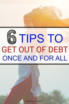 Learn to get out of debt and live financially free. 6 tips and tricks to pay off your debt. Without a life of debt, your money will stay in your pocket. Ways To Save Money, Money Tips, Money Saving Tips, Money Budget, Financial Peace, Financial Tips, Financial Planning, Savings Planner, Get Out Of Debt