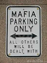 Funny Mafia Warning Sign Stock Photo (Edit Now) 348477 Gangster Party, Real Gangster, Mafia Gangster, Gangster Quotes, Mafia Party, Guns N Roses, Minions, Al Capone, The Godfather