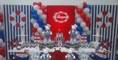 Decoração de festa com mesa provençal de diversos temas, mesas auxiliares, doces, temas e mais, por apenas R$ 595,00. Parcele em até 18X