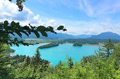 Auf Kärntner Seen kommt jeder auf seinen Geschmack – ob wandern, radeln oder baden. Ich stelle dir Seen vor, auf die es sich lohnt, eine Tour zu unternehmen Heart Of Europe, Background Images, River, Fantasy, Outdoor, Road Trip Destinations, Tours, Travel Advice, Outdoors