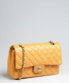 Tan Matelasse Caviar Leather Chain Shoulder Bag 116