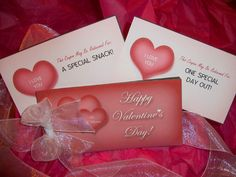 Free Printable Valentine's Day Coupons for or from Your Kids!