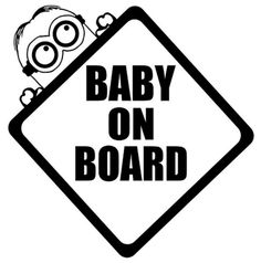 Baby Cow on Board Personalised Animal Themed Baby on Board Car Sign