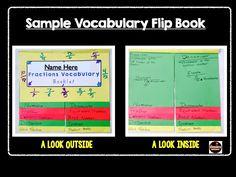 Vocabulary Flip Book & Frayer Model