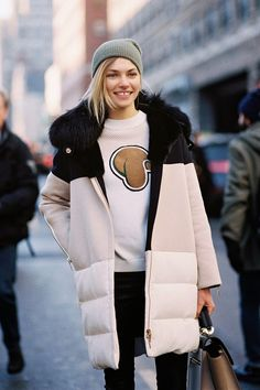 Vanessa Jackman: New York Fashion Week AW 2014....Jessica