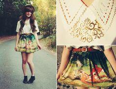 So cute! http://lookbook.nu/look/4441415-BAMBI