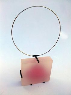 Ignasi Cavaller -   Lover of curves - (front)  Silver, cristal resin and acrilic
