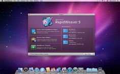 RapidWeaver: gorgeous, simple, sophisticated, layman's Web Site Design alternative to Macromedia/Adobe DreamWeaver ($20/mth); at least as easy as Apple's iWeb (from iLife'06 2006-01-10 but died with iLife'11 at vers. 3.04 on 2010-09-17) •$80 MacAppStore https://itunes.apple.com/us/app/id402477569?mt=12 •RW is created by Realmac Software from young ingenious UK pioneers who make affordable, easy, practical, gorgeous Mac apps