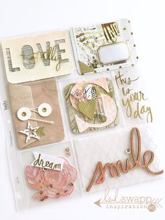 How to make Pocket Letters HeidiSwapp style! Pocket Letters created by…