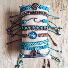 Beach Bracelets, Summer Bracelets, Cute Bracelets, Colorful Bracelets, Summer Jewelry, Cute Jewelry, Boho Jewelry, Jewelery, Hippie Accessories