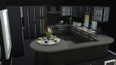 Sanjana Sims: Elle's kitchen and dining • Sims 4 Downloads
