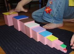 Decanomial - Square of Pythagoras - Some Extentions3  @Susan Saunders (see, I  knew those pink cubes could come in handy in an elementary class)