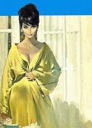 Modesty Blaise - Artwork by Robert McGinnis Robert Mcginnis, Pulp Fiction Art, Pulp Art, Cincinnati, Pin Up Art, Mellow Yellow, Up Girl, American Artists, Vintage Art