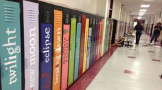 'Avenue of Literature', Biloxi Teachers Turn Worn-Out School Lockers Into the Spines of Classic and Modern Books