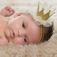 30 ピース/ロット 5色新生児ミニ フェルト クラウン + グリッター弾性ヘッド バンド女の子の ヘア アクセサリー手作り リュクス赤ちゃん ヘッド バンド