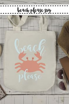 Get real for the beach with this fun FREE Beach Please SVG file from Everyday Party Magazine #BeachPlease #SVG #DIY #EverydayPartyMagazineShop