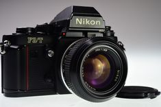 Nikon F3 T 35mm SLR Film Camera Body with AI NIKKOR 50mm f/1.4 Excellent