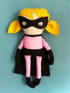 Bournonville´s Dukker: Færdig superhelte dukke