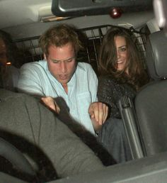 So refreshing. Royal members do go out and drink and look sloppy after a night out -- and these two did just that after hitting up London's Boujis Nightclub back in 2007. Everyone hates on Kate for drinking, wearing short dresses, and coming from an average family background, but we dig it.