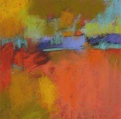 Luminous, 9x9 inches pastel by Debora L. Stewart sold