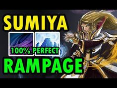 RAMPAGE Perfect Ice Wall - Sumiya Best Invoker [Dota 2]