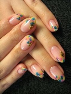 Super-Cute Spring Nail Art Ideas - Learn how to multiply your chances to land in the spotlight with these super-cute nail art ideas. Choose different shades and prints to update your manicure and stay on trend with the latest nail trends.