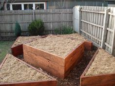Raised bed gardens - lucys garden: I LOVE A GOOD BED.......IN THE GARDEN!