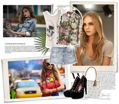 """Cara Delevingne"" by jen-smith13 ❤ liked on Polyvore"