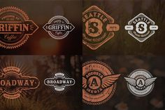 Objects Product Images ~ 13 Retro Signs o… ~ Creative Market
