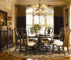 20 Beautiful Round Table Design for Your Dining Room | Hominic.com ...