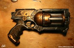 Step by step Customisation Nerf Maverick Steampunk | Ethis Crea