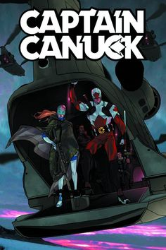 Captain Canuck #1  Chapter House Comics 2015