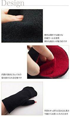 Amazon | Mani Mani(マニマニ)圧縮ウール 3Wayミテーヌ レディス手袋 日本製 【MM-2220】 (ベージュ/カーキ) | アームウォーマー 通販