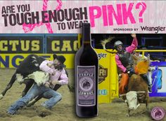 In case you needed another excuse, Purple Cowboy Wines support the Tough Enough to Wear Pink breast cancer awareness campaign. Wine Offers, Awareness Campaign, Good Cause, Breast Cancer Awareness, Rodeo, Wines, Purple, How To Wear, Cheers