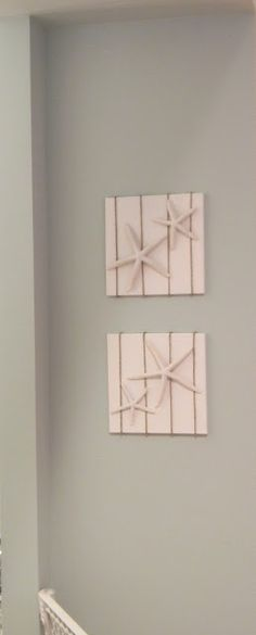 Seaside Interiors: DIY Starfish Art