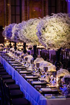 Brides: New York City Real Wedding Photos: A Stunning Manhattan Wedding at the Public Library