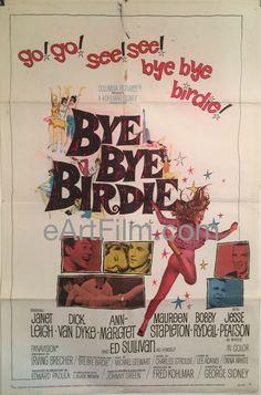Bye Bye Birdie-Ann Margret-Janet Leigh-Dick Van Dyke-1963-27x41