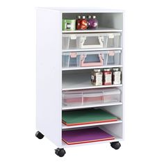 """Recollections™ Mobile Storage Tower 15 3/4"""" x 15 3/4"""" x 32 1/4"""" (finished size)"""