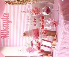 cumpleanos-princesas-rosa-mesa