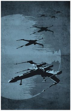 http://www.etsy.com/listing/97914137/star-wars-11x17-poster-set X-wings are the coolest!!!