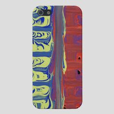 Savvy cell phone case iPhone 5 or 4 Matte or by AbstractArtAffair, $40.00