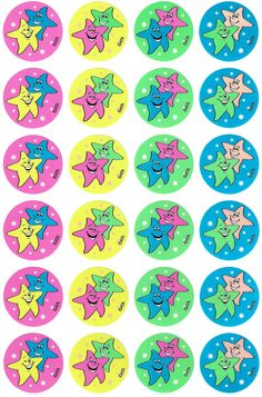 Stars Fluoro Stickers - Australian Teaching Aids - 96 star themed fluoro stickers to reward students or decorate the classroom. Reward Chart Kids, Kids Rewards, Reward Stickers, Printable Stickers, Star Students, Cooperative Learning, Teaching Aids, Learning Arabic, School Teacher