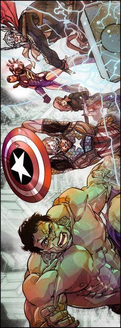 The Avengers by Carmine Di Giandomenico