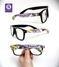 Handpainted glasses by Bobs Made