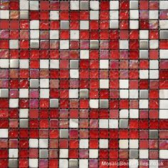 Studio Red Mixed Mosaic
