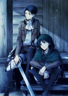 Eren and Levi (Attack on Titan)