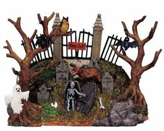Lemax Spooky Town Spooky Knoll