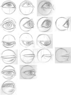 Noses by chibiki on DeviantArt Face Drawing Reference, Realistic Eye Drawing, Art Reference, Anatomy Sketches, Anatomy Drawing, Types Of Eye Shapes, Different Nose Shapes, Lip Shapes, Pencil Art Drawings